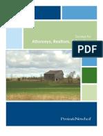 Surveys for Attorneys Realtors Lenders
