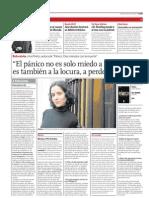 Entrevista en diario Clarín
