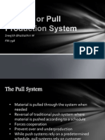 Kanban or Pull Production System