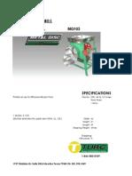 Especs Sheets Co3 Metal Disc 5 h.p. 3ph.