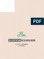 Dissertation research booklet