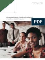 Corporate Intranet Best Practices Web2.0