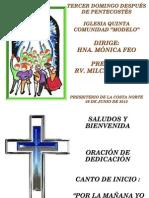 Culto 09-06-13