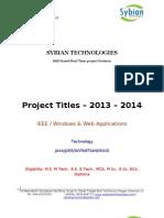 Projecttitles_2013_2014