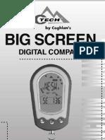 Ctech Digital Compass 0491 Instruction Manual