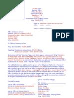 Executive/ Executor letter #0010
