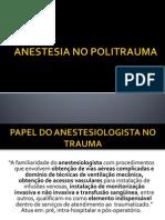 Anestesia No Politrauma Prontissimo