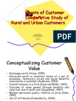 Determinants of Customer Value