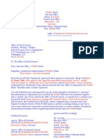 Executive administrative letter 15