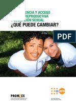 PROMSEX Adolescencia Acceso Saludr Reproductiva