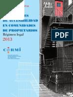 Accesibilidad en Comunidades de Propietarios - 2013