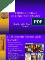 El Lenguaje Humano.