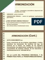 Armonizacion