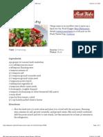 Cumin Lamb Stir-Fry Recipe