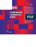 Cambio Democratico de Jose Woldenberg
