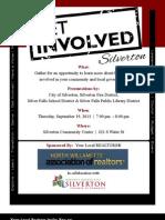 Get Involved Flyer
