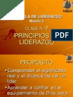 Clase 7- Principios de Liderazgo