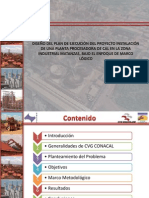 Plan Ejecucion Proyecto Instalacion Planta Procesadora Cal