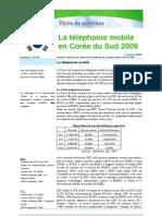 Téléphonie mobile en Corée du Sud 2009