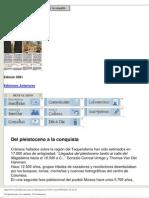 ElCatolicismo.com.Co - Del Pleistoceno a La Conquista