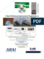 Brochure Vehicle Dynamics Industry