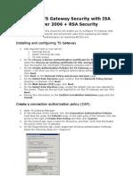 TS Gateway 2008 & RSA