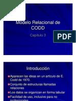 003 - Modelo Relacional de CODD Presentacion