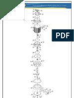 1-Tabela Ref Desenho Explodido Bomba Smax-13 - Desenho