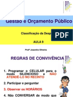Aula-09 Classificacao Da Despesa