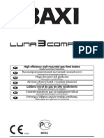 Baxi Luna Comfort Manual