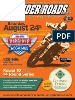Thunder Roads Virginia Magazine - August 2013
