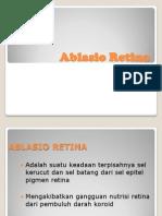 Ppt Ablasio Retina