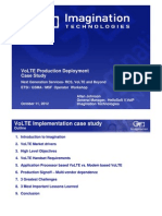 VoLTE Case Study