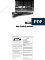 MX200Manual Spanish