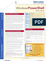 17525867 PowerShell Reference Card