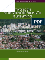 Improving the Performance of the Property Tax in Latin America