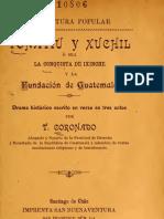 Tonatiu y Xuchilos o Sea La Conquista Peruana