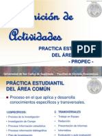Definicion de Act Practica Est