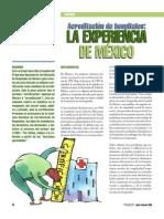 Acrecitacion de Hospitales. Mexico