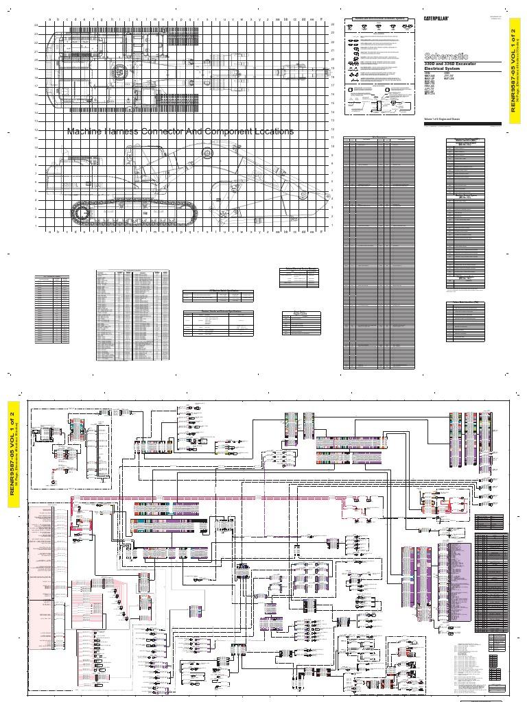 Caterpillar 320 Wiring Diagram - WIRE Center •