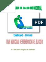 Plan Municipal de Prevencion Contra El Suicidio
