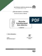 Guia Didactica Derecho Constitucional Universidad Tecnica Particular de Loja UTPL