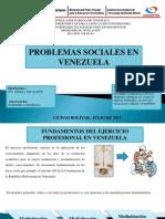 Problemas Sociales en Venezuela