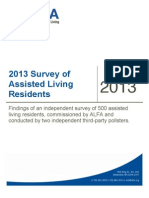 2013 Survey of Assisted Living Residents