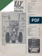 Model L Instruc Man 0364