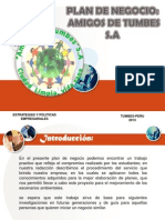 Escenarios Ambientales_plan de Negocios- Amigos de Tumbes