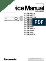Manual Servico PT-LB20SU