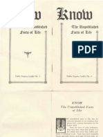 AMORC - Know the Unpublished Facts of Life (1920s).pdf