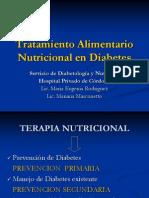 Diabetes Tratamiento Alimentario