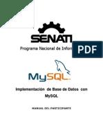 Manual MySQL Senati
